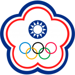 Flag of Chinese Taipei for Olympic games