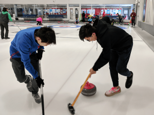 The second curling camp was successful