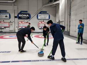 First curling camp attracts many juniors coming to experience curling